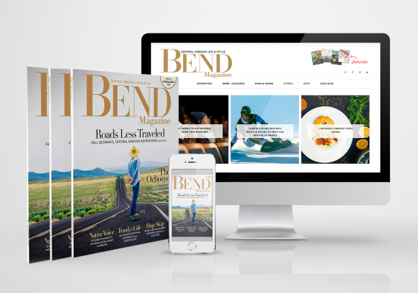Content publishing system, event calendar and branding for Bend Magazine