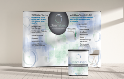 ClearSpec Tradeshow Booth