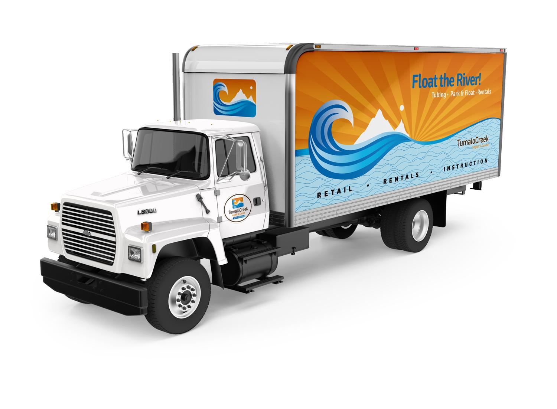 Tumalo Creek Tubing Truck